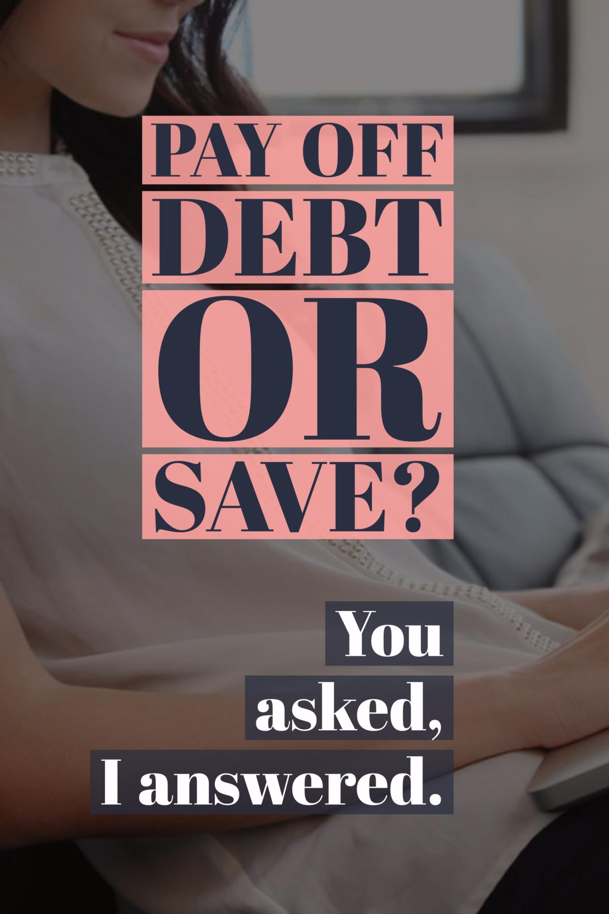 Pay down debt or start an emergency fund and save for a rainy day? This is a question I am asked at least once a week. Find my answer at » http://bit.ly/29oHH2S