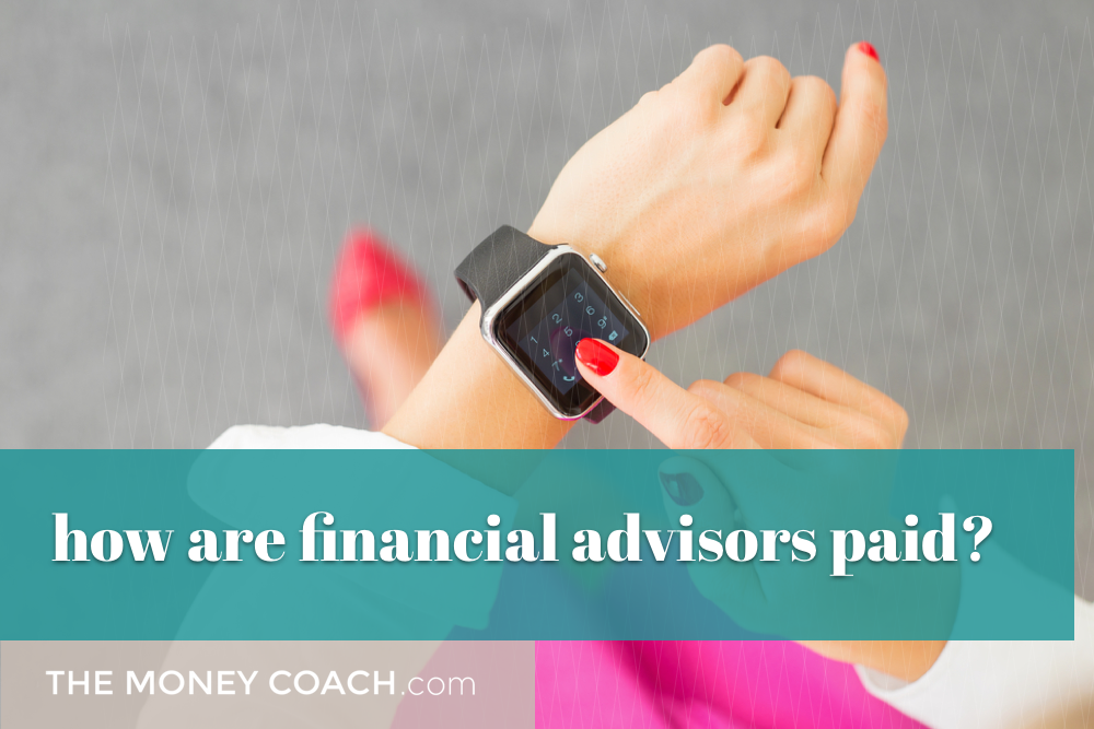 how are financial advisors in Canada paid